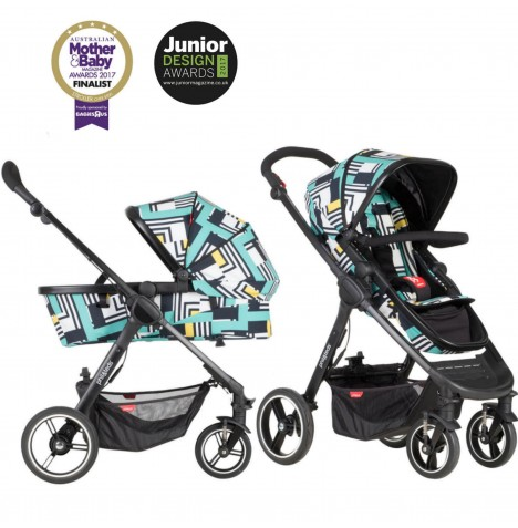 Phil & Teds Mod Pushchair / Buggy - Abstract