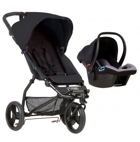 Mountain Buggy Mini Travel System - Black