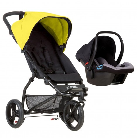 Mountain Buggy Mini Travel System - Cyber