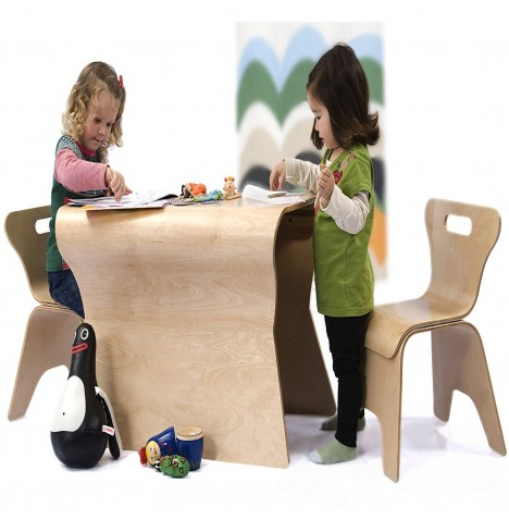 Bloom Otto Table And Chairs Set - Natural