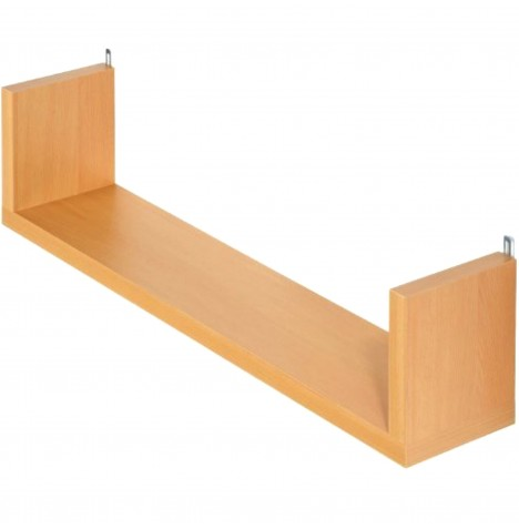 Kub Madera Wall Shelf - Maple
