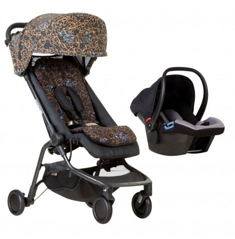 Mountain Buggy Nano Travel System - Rooster