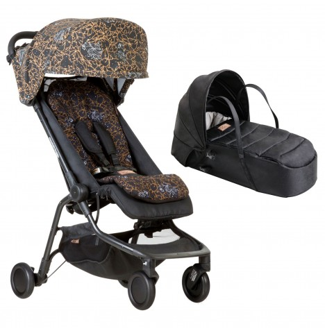 Mountain Buggy Nano Stroller & Carrycot - Rooster