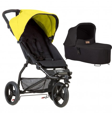 Mountain Buggy Mini Pushchair & Carrycot - Cyber