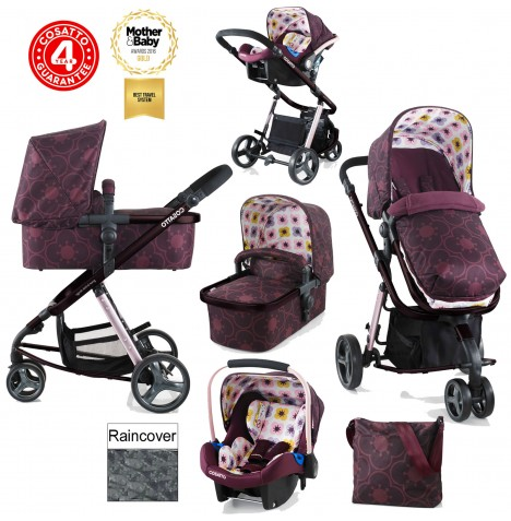Cosatto Giggle 2 Combi 3 in 1 Travel System - Posy..