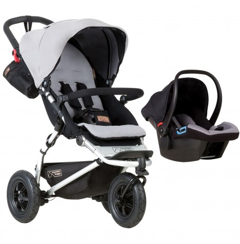 Mountain Buggy Swift Travel System - Silver