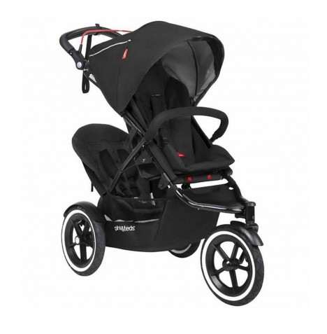 Phil & Teds Sport Autostop Tandem Pushchair - Black..