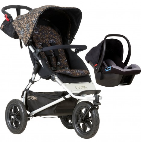 Mountain Buggy Urban Jungle Travel System - Rooster