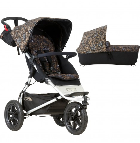 Mountain Buggy Urban Jungle Pushchair & Carrycot - Rooster