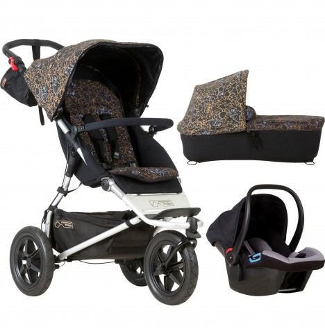 Mountain Buggy Urban Jungle Travel System & Carrycot - Rooster
