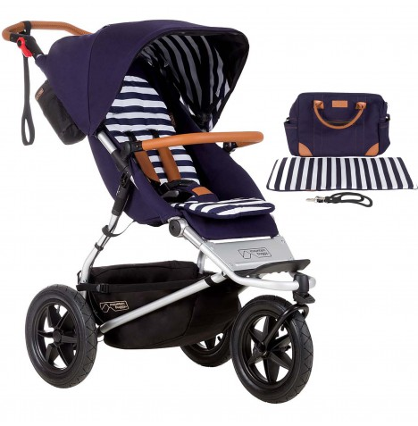 Mountain Buggy Urban Jungle Pushchair - Nautical
