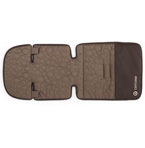 Concord Snuggle Pushchair Seat Liner - Toffee Brown