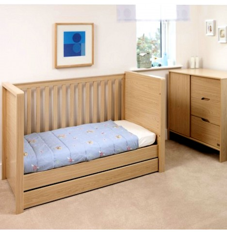 Kub Madera Cot / Day Bed - Maple