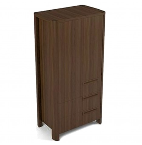 Babystyle Brooklyn Wardrobe - Walnut