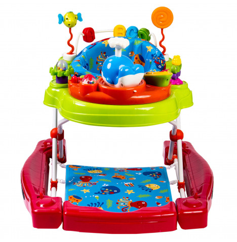 Red Kite 4 in 1 Baby Go Round Activity Playcentre - Under The Sea
