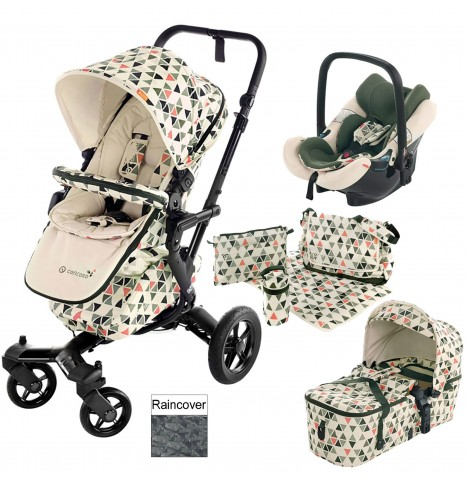 Concord Neo Mobility Set Travel System - Emerald