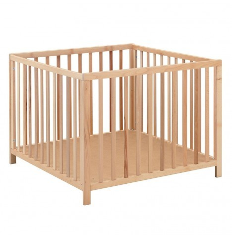 Babydan Felix Wooden Playpen - Natural