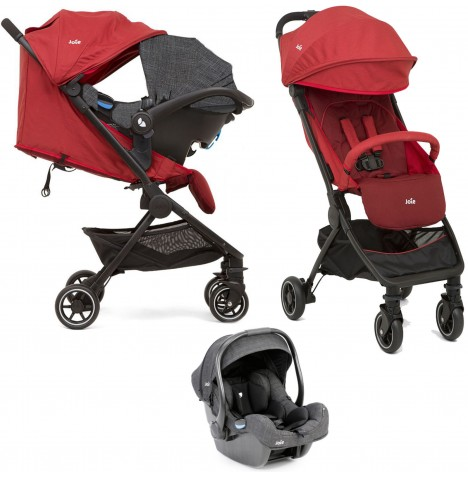 Joie Pact (i-Gemm) Travel System - Cranberry