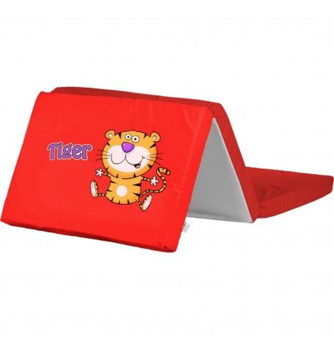Caretero Safari Foldable Travel Mattress - Tiger Red