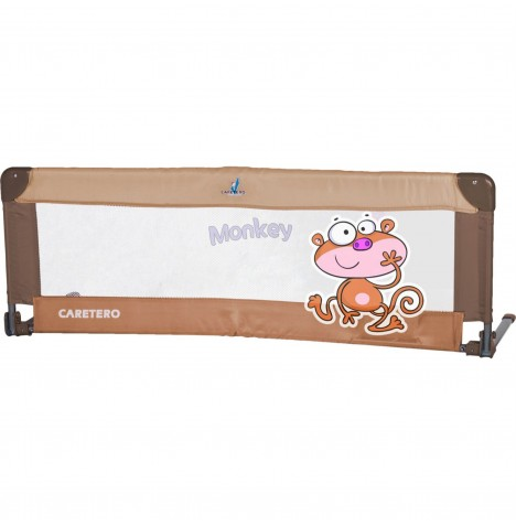 Caretero Safari Bed Guard / Rail - Brown