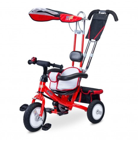 Toyz Derby 3in1 Trike - Red