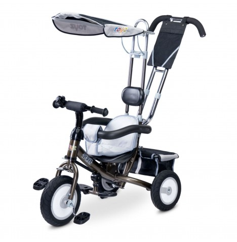 Toyz Derby 3in1 Trike - Grey