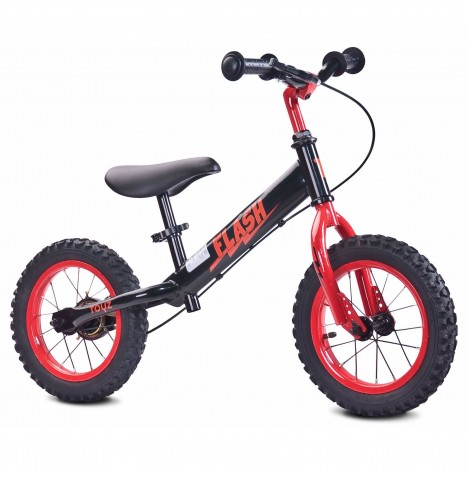 Toyz Flash Balance Bike - Black / Red