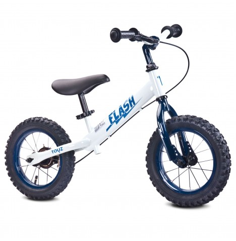 Toyz Flash Balance Bike - White