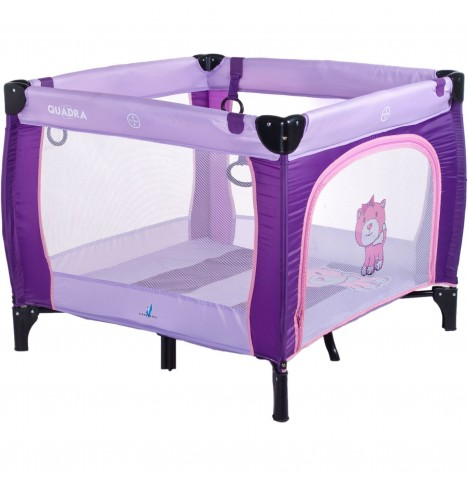 Caretero Quadra Travel Playpen - Purple