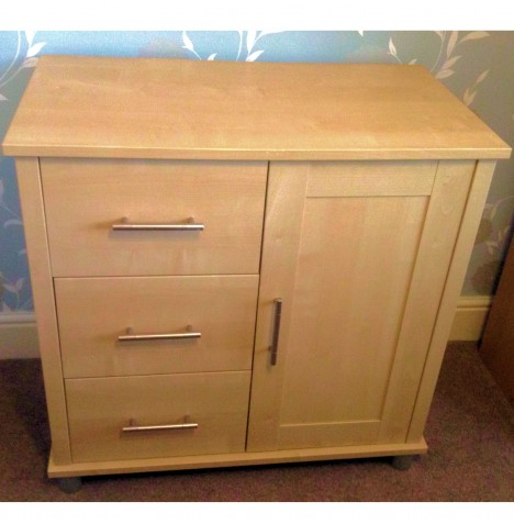 Mamas & Papas Modensa Dresser / Changing Unit - Warm Maple