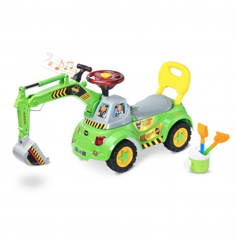 Toyz Ride-On Scoop - Green