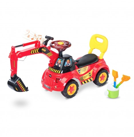 Toyz Ride-On Scoop - Red