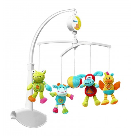 Baby Ono Musical Mobile - Rainbow Animals