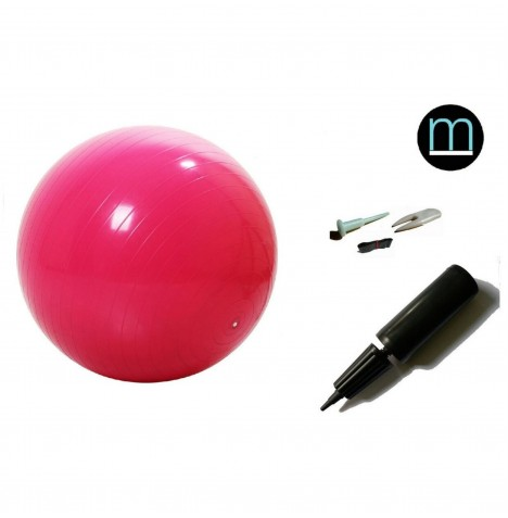 House Of Miracles The Miracle Bag Exercising / Birthing Ball (55cm) & Pump - Red