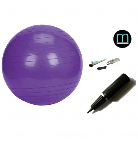 House Of Miracles The Miracle Bag Exercising / Birthing Ball (75cm) & Pump - Purple