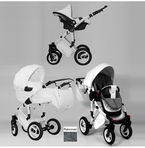DaVos Eco 2in1 Travel System - White