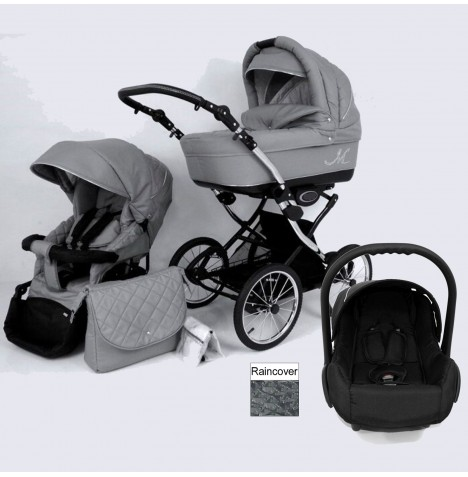 DaVos Classic ML 2in1 Travel System - Grey