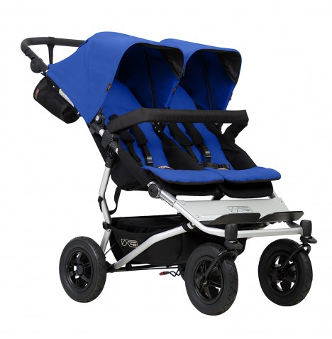 Mountain Buggy Duet V3 Twin Pushchair - Marine