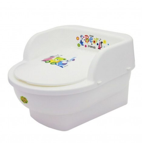 Maltex Toddler Potty Throne - Little Bear White