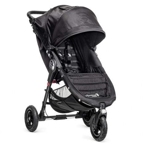 New Baby Jogger City Mini GT Single Stroller - Black..