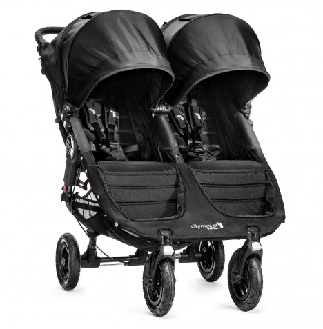 New Baby Jogger City Mini GT Double Stroller - Black..