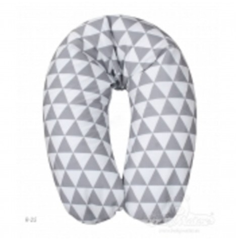 Matex Relax Maternity / Pregnancy / Support Pillow - Grey Chevron