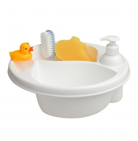 Maltex Top & Tail Baby Bath Gift Set - White
