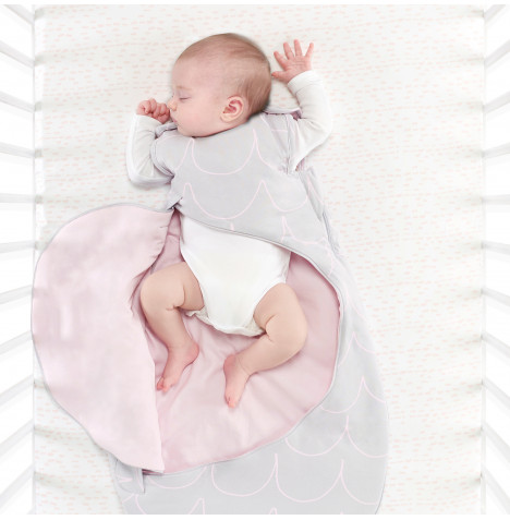 Snuz SnuzPouch Designz 2.5 Tog (0-6mths) Sleeping Bag - Wave Rose
