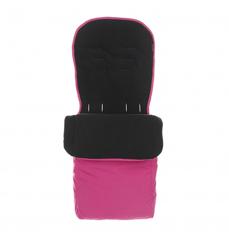 Obaby Pushchair Footmuff - Pink