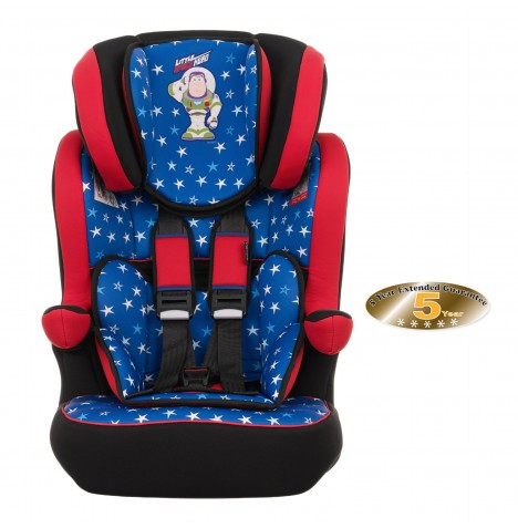 Obaby Disney Group 123 High Back Booster Car Seat - Buzz