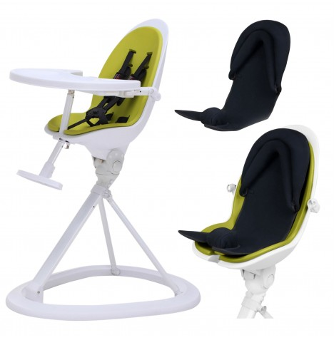 ickle bubba Orb+ Highchair - White / Green
