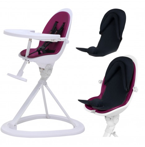 ickle bubba Orb+ Highchair - White / Purple