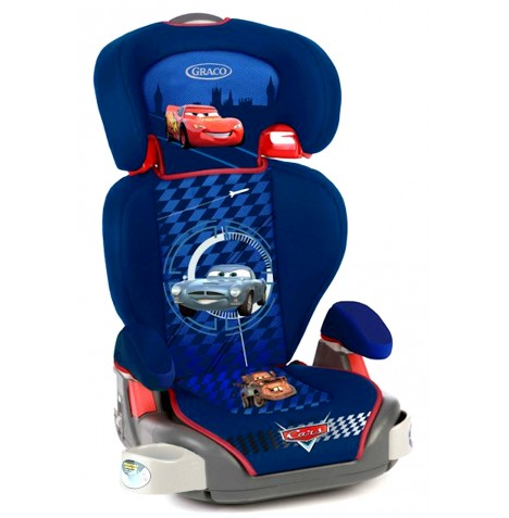 new graco disney cars 2 junior maxi booster car seat ebay. Black Bedroom Furniture Sets. Home Design Ideas