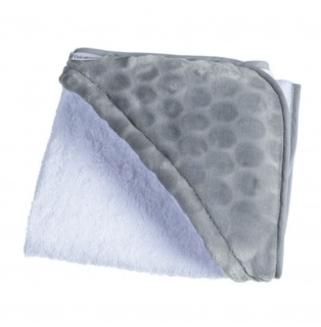 Clair De Lune Luxury Hooded Towel - Marshmallow Grey